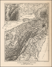 Mid-Atlantic and Southeast Map By Victor Huot