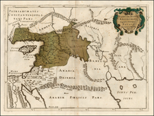 Balearic Islands, Asia, Central Asia & Caucasus, Holy Land and Turkey & Asia Minor Map By Tipografia del Seminario