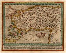 Europe, Turkey, Asia, Turkey & Asia Minor and Balearic Islands Map By Matthias Quad
