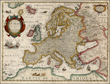 Europe and Europe Map By Michel Van Lochem