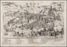 Italy Map By Bolognini Zaltieri / Giulio Ballino
