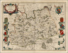 British Isles Map By Willem Janszoon Blaeu