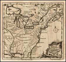 United States Map By London Magazine