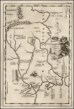 Spain Map By Samuel Bochart