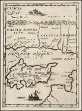 Italy and Balearic Islands Map By Samuel Bochart
