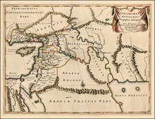 Asia, Central Asia & Caucasus, Holy Land, Turkey & Asia Minor and Balearic Islands Map By Covens & Mortier