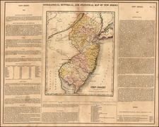Mid-Atlantic Map By Henry Charles Carey  &  Isaac Lea