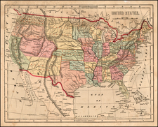 United States Map By Charles Morse