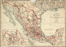 Mexico Map By United States GPO