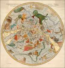 Celestial Maps Map By Franz Anton Schraembl