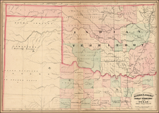 Texas and Plains Map By Asher / Adams