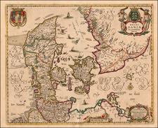 Scandinavia Map By Frederick De Wit