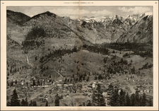 Rocky Mountains Map By Harper's Weekly