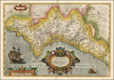 Europe and Spain Map By Abraham Ortelius