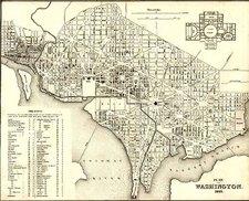 Mid-Atlantic Map By Joseph Meyer  &  Carl Radefeld