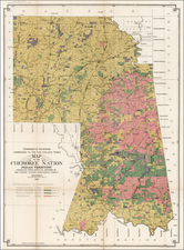 Plains Map By United States Department of the Interior