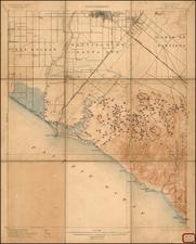 California Map By U.S. Geological Survey