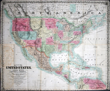 United States Map By John M. Atwood