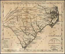 Southeast Map By Jedidiah Morse