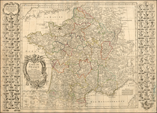 France Map By Jean-Baptiste Nolin / Louis Denis