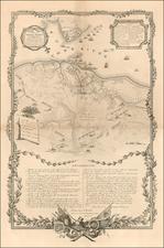 Southeast Map By Henry Schenk Tanner / Sebastian Bauman / J.F. Renault