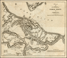 Mid-Atlantic and Southeast Map By William Faden