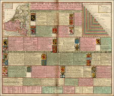 Europe and Germany Map By Caspar Specht