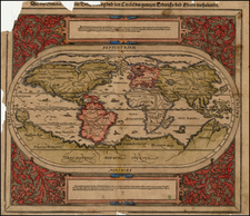 World and World Map By Sebastian Münster