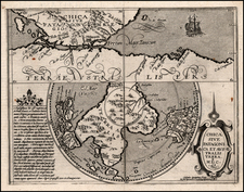 Southern Hemisphere, Polar Maps and South America Map By Matthias Quad