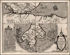 Southern Hemisphere, Polar Maps and South America Map By Matthias Quad
