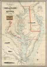 Mid-Atlantic and Southeast Map By Fielding Lucas Jr.
