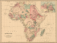 Africa and Africa Map By People's Publishing Co.