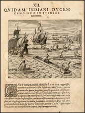 Southeast Asia, Other Islands and Other Pacific Islands Map By Theodor De Bry