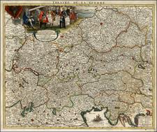 Switzerland, Austria, Hungary, Czech Republic & Slovakia, Balkans and Italy Map By Peter Schenk