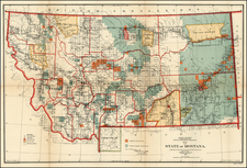 Plains and Rocky Mountains Map By U.S. General Land Office