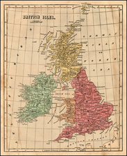 British Isles Map By Charles Morse