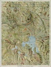Rocky Mountains Map By Poole Brothers