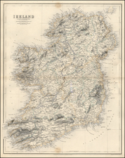Ireland Map By Archibald Fullarton & Co.