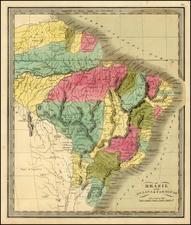 Brazil Map By Jeremiah Greenleaf