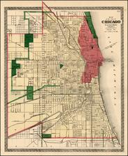Midwest Map By Warner & Beers