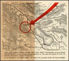 California Map By Norton Allen