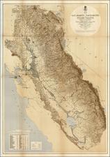 California Map By U.S. War Department