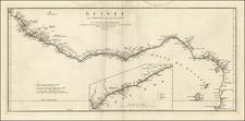 West Africa Map By Jean-Baptiste Bourguignon d'Anville