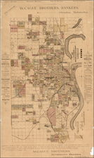 Midwest and Plains Map By Everts & Kirk