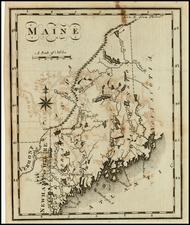 New England Map By Joseph Scott