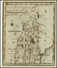 New England Map By Joseph Scott