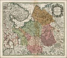 Russia Map By Matthaus Seutter