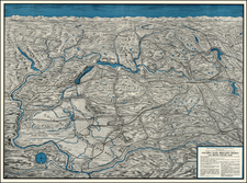 Washington Map By Spokane Chamber of Commerce