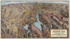 Southwest Map By Union Pacific Railroad Company