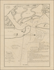 Florida and American Revolution Map By George Louis Le Rouge